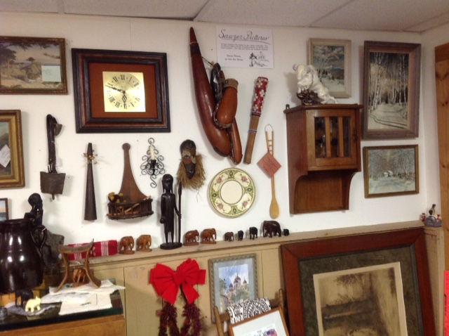 get antiques in vt
